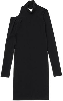 Helmut Lang Long-Sleeve Cutout Dress