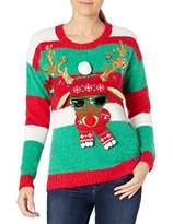 Blizzard Bay Women's Ugly Reindeer Sweater