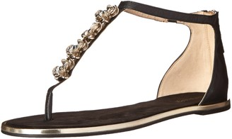 Nine West Women's Kayuga Leather Dress Sandal