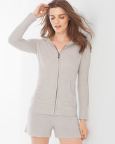 Soma Intimates Chic Lite Hoodie Silver