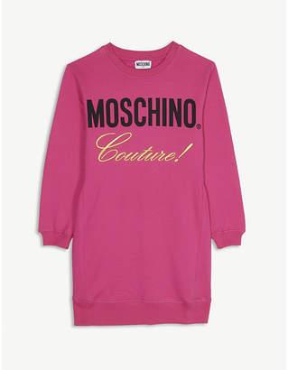 Moschino cotton-blend jumper dress 4-14 years