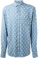Saint Laurent polka dot shirt - men - Viscose - 43