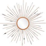 JCPenney Stellar Starburst Round Wall Mirror