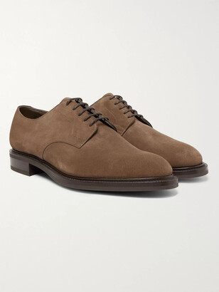Edward Green Windermere Cross-Grain Leather Derby Shoes