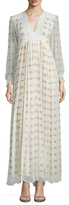 Manoush Bollywood Embroidered Maxi Dress