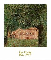 Gustav 1art1 Posters Klimt Poster Art Print - Farm-House In Northen Austria (28 x 20 inches)