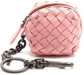 Bottega Veneta Intrecciato leather purse key ring