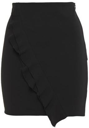 IRO Jipy Ruffled Stretch-crepe Mini Skirt