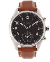 Kronaby Apex Leather Dial Smart Watch