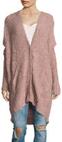 Free People Chunky Knit Oversized Cardigan