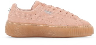 Puma PS Suede Platform Jewel Trainers