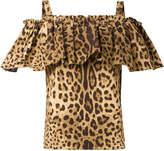 Dolce & Gabbana off-shoulder ruffle blouse