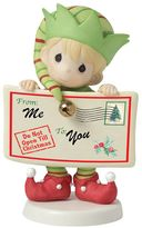 Precious Moments Peace And Christmas Cheer In Here Elf Christmas Figurine