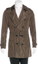 Burberry Lightweight Geometric Trench Coat