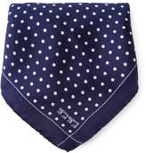 fe-fe polka dot print pocket square handkerchief