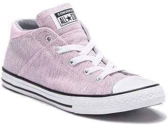 Converse Chuck Taylor(R) Mid Lace-Up Pink Foam Sneaker (Toddler, Little Kid & Big Kid)
