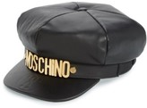 Moschino Women's Leather Cap - Black