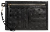 Mossimo Women's Black Perforated Pouch