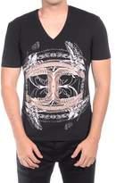 Just Cavalli Men Cultured T-shirt Black.