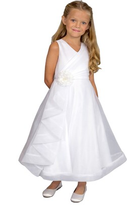 Us Angels Ruffle Organza Dress