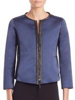 Giorgio Armani Reversible Leather Jacket