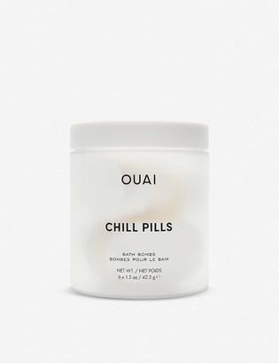 Ouai Chill Pills bath bombs pack of six