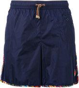 Missoni zipped pocket swim shorts - men - Nylon - XXL