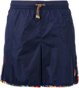 Missoni zipped pocket swim shorts