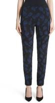 Lela Rose Women's Catherine Tulip Jacquard Pants
