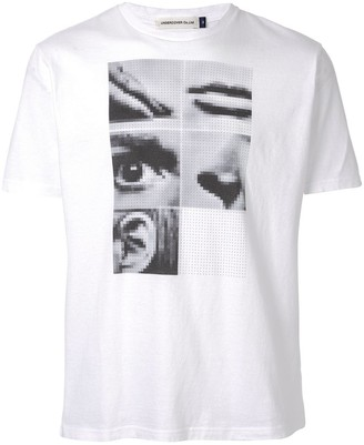 Undercover pixel print T-shirt