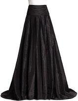 Carolina Herrera Night Collection Silk Cummerbund Ball Gown Skirt