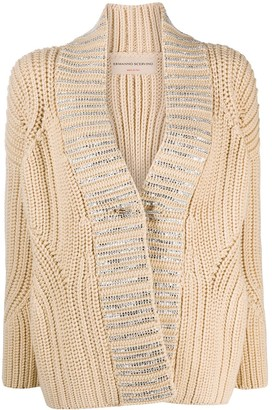 Ermanno Scervino Chunky-Knit Cardigan