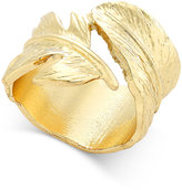 Thalia Sodi Gold-Tone Feather Wrap Ring, Only at Macy's