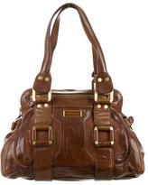 Jimmy Choo Leather & Suede Shoulder Bag