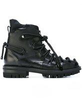 DSQUARED2 lace detail boots