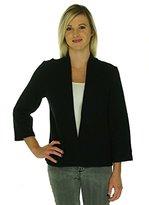 Anne Klein Women's Open Front Wool Cardigan