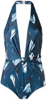 Giuliana Romanno printed swimsuit