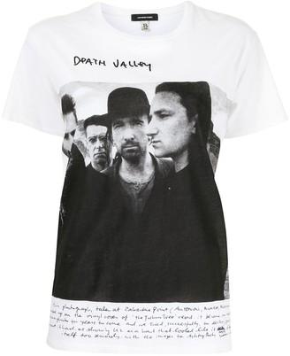 R 13 U2 Death Valley print T-shirt