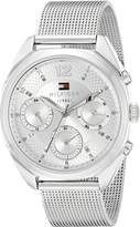 Tommy Hilfiger Women's 1781628 Sophisticated Sport -Tone Stainless Steel Watch