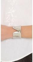 Alexis Bittar Torn Pave Crystal Cuff Bracelet
