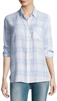 Rails Charli Plaid Button-Front Shirt