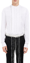 Haider Ackermann Men's Byron Lace-Up Shirt-WHITE