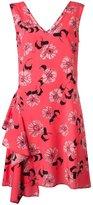 P.A.R.O.S.H. Split floral print dress