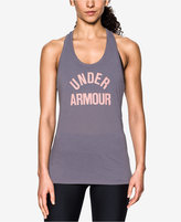 Under Armour Threadborne Train Wordmark Tank Top