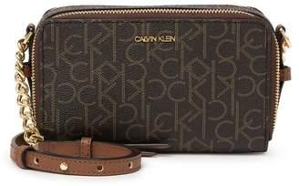 Calvin Klein Monogram Logo Crossbody Bag