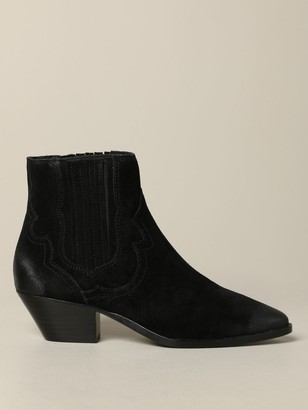 Ash Falcon Suede Ankle Boot
