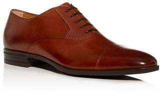 BOSS Men's Kensington Leather Cap-Toe Oxfords