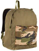 Everest Classic Color Block Backpack (Set of 2) - Olive/Camo Zipper