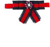 Gucci Kids - striped belt - kids - Cotton/Viscose - One Size