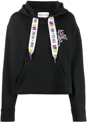 Reebok by Pyer Moss x Pyer Moss graphic-print hoodie